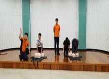 [칠곡]칠곡군농업기술센터, 무각본 소방훈련 실시