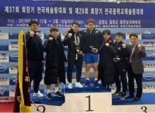 [칠곡]군청 레슬링팀,'제37회 회장기 레슬링대회'일반부 종합우승!