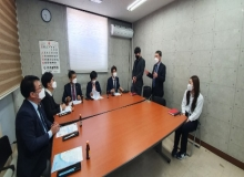 [칠곡]아동미래연구회, 경북서부아동보호전문기관 방문