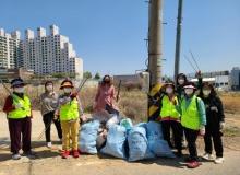 [칠곡]북삼읍 노인 일자리 환경정비 사업단, '봄맞이 환경정비' 활동 실시