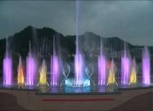 [칠곡]한반도의 평화와 번영을 염원하는 '칠곡 평화분수' 개장
